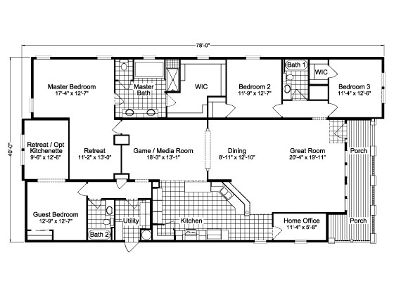 1974 mobile home floor plans awesome double wide mobile homes