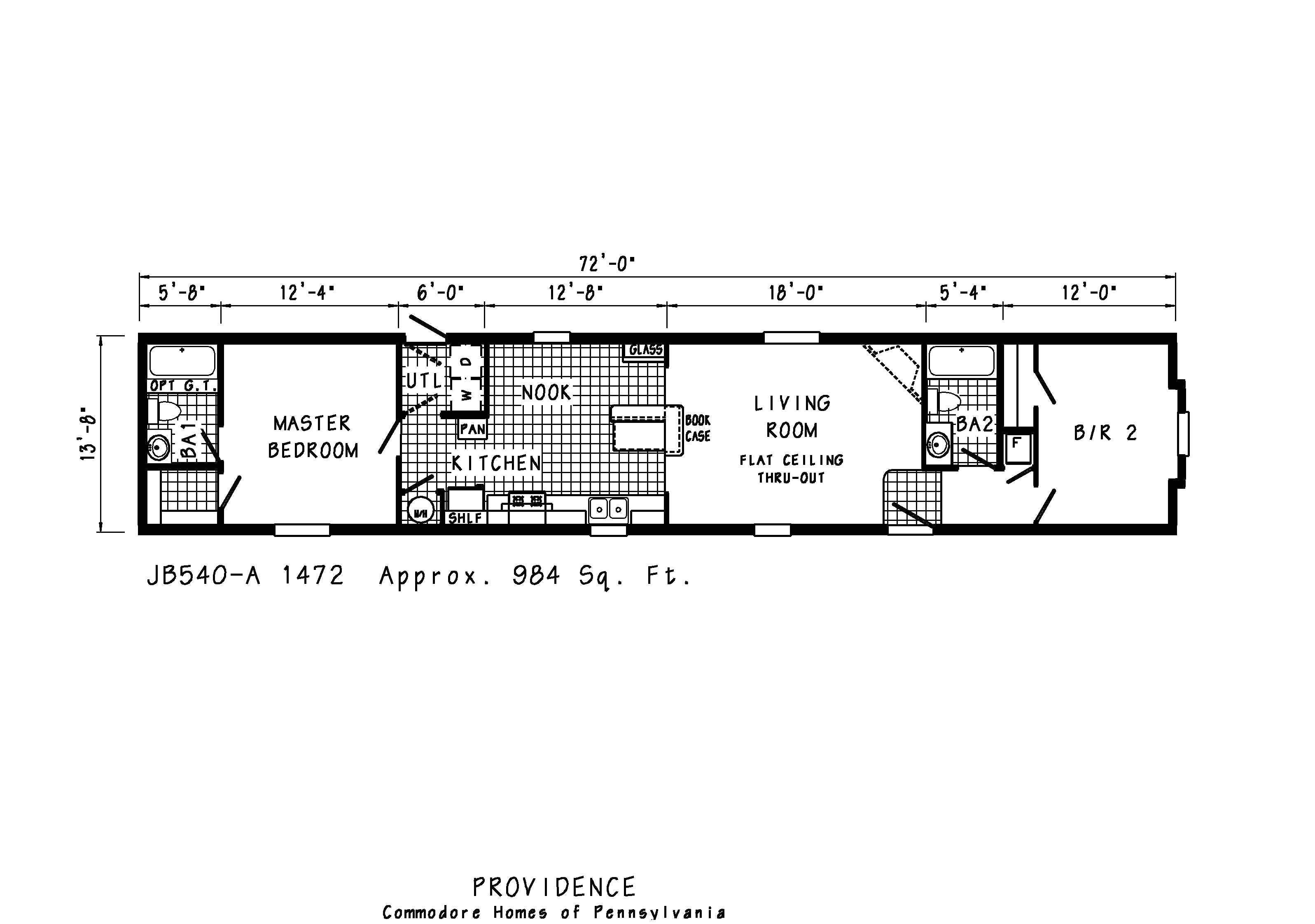 mobile home trailer floor plans