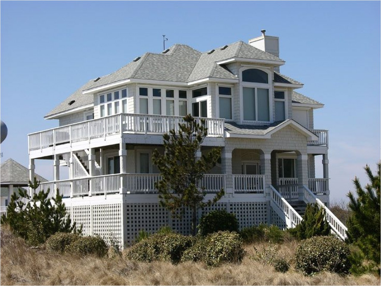 85692545103d2e81 2 story beach house plans 2 story beach house with deck