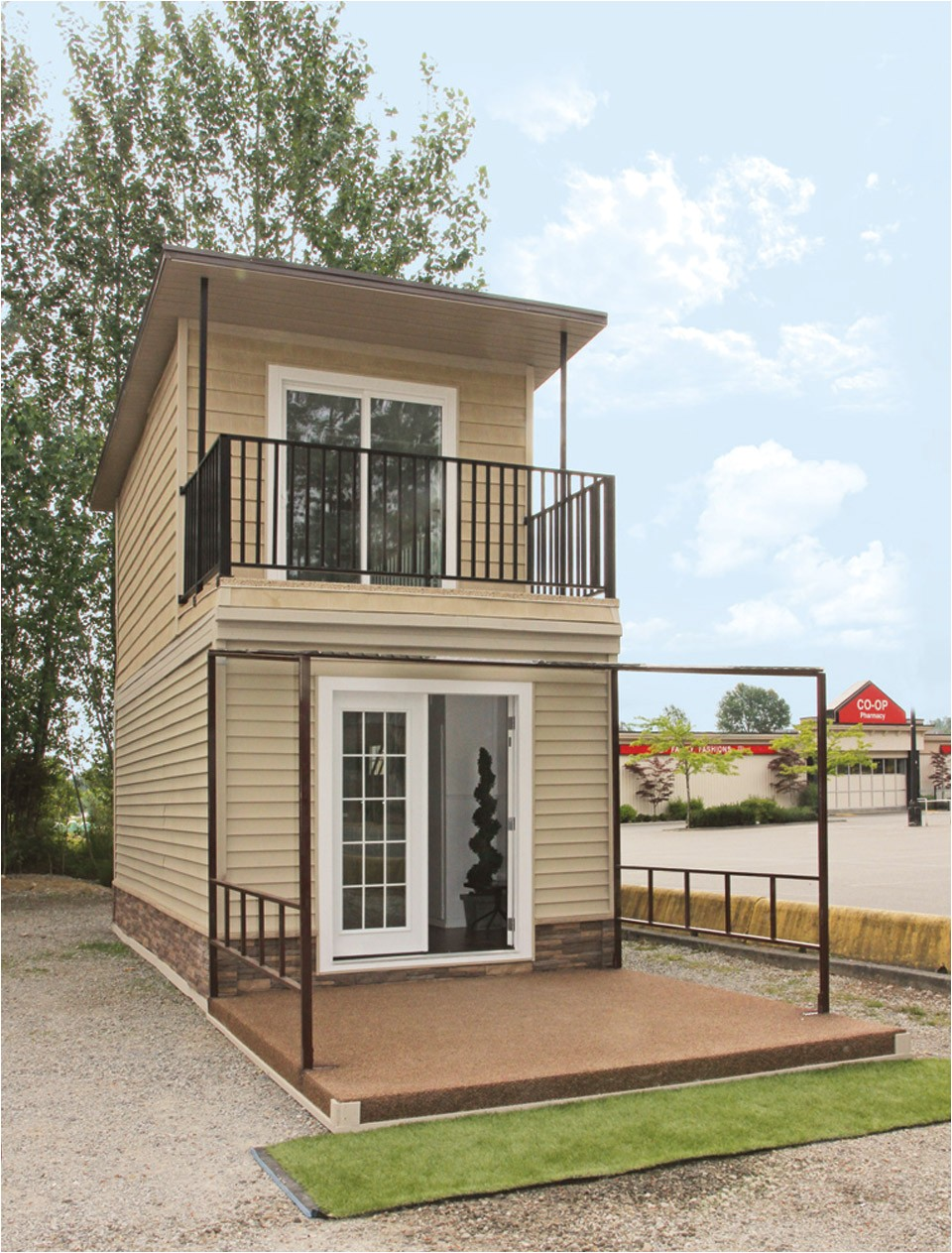 2 Story Tiny Home Plans the Eagle 1 A 350 Sq Ft 2 Story Steel Framed Micro Home