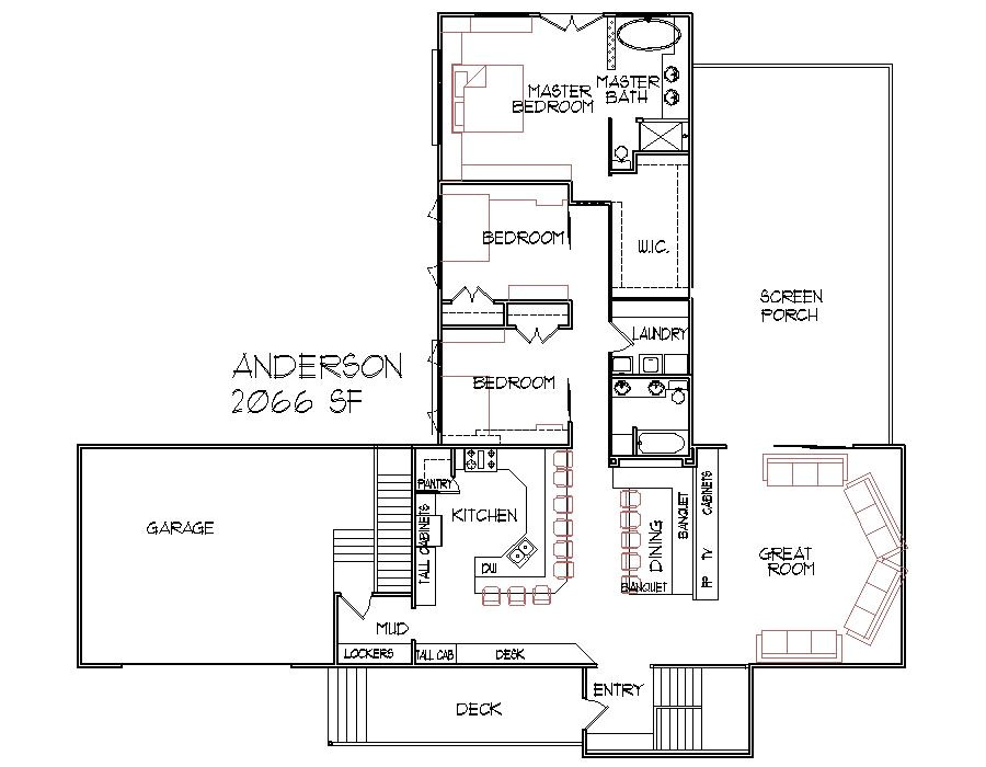 2000 square foot home plans