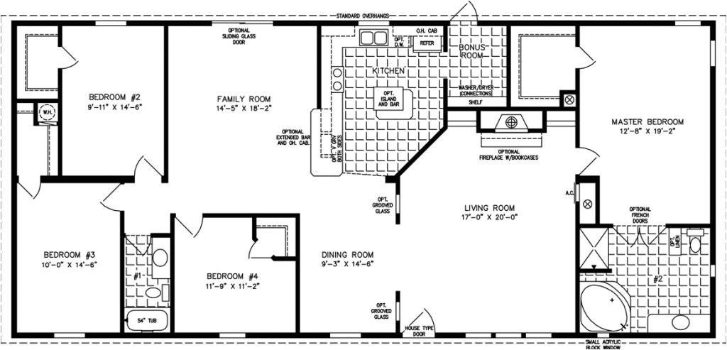 2000 square foot house plans ranch