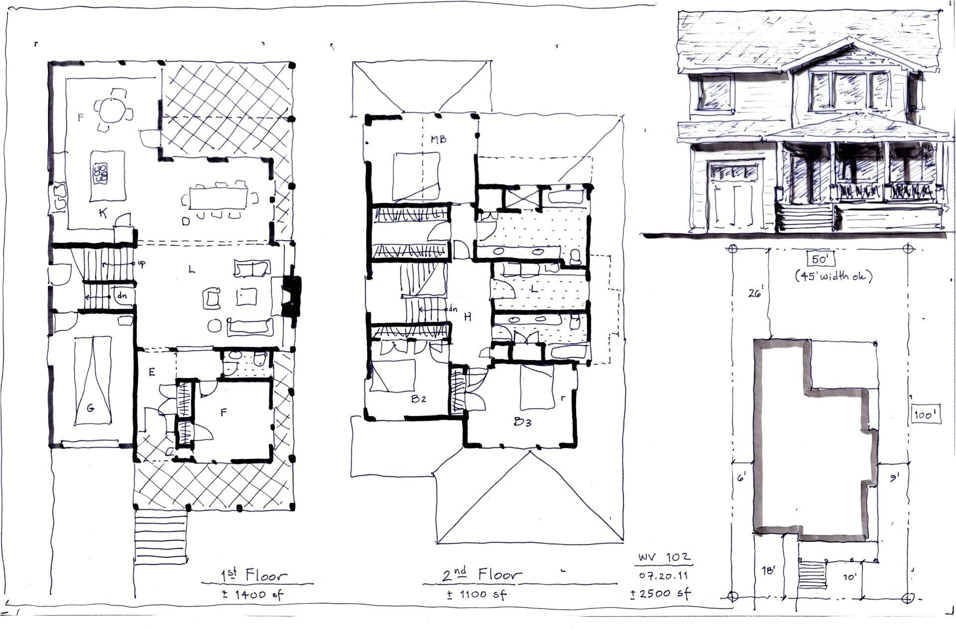 2000 sq ft ranch house plans with basement