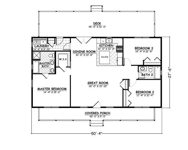 24 x 36 house plan with loft