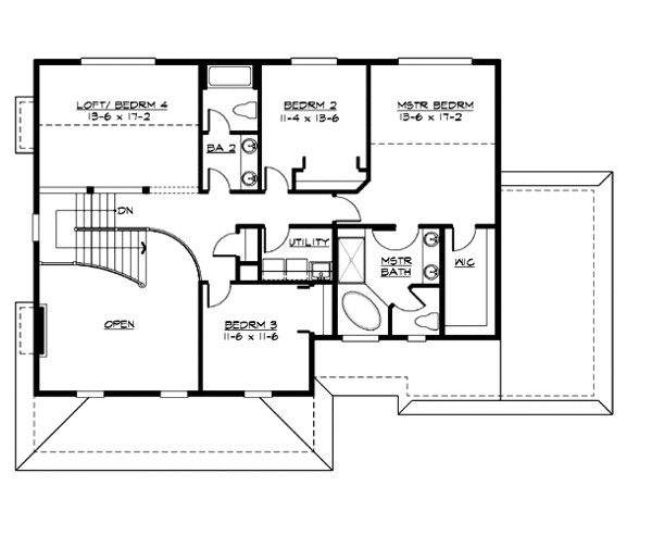 2700 square feet 4 bedrooms 2 5 bathroom country house plans 3 garage 19892