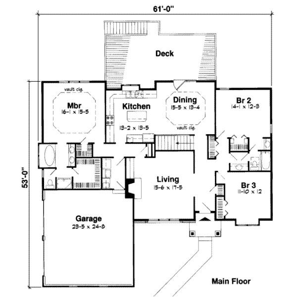 2700 square feet 4 bedrooms 3 bathroom european house plans 2 garage 17760