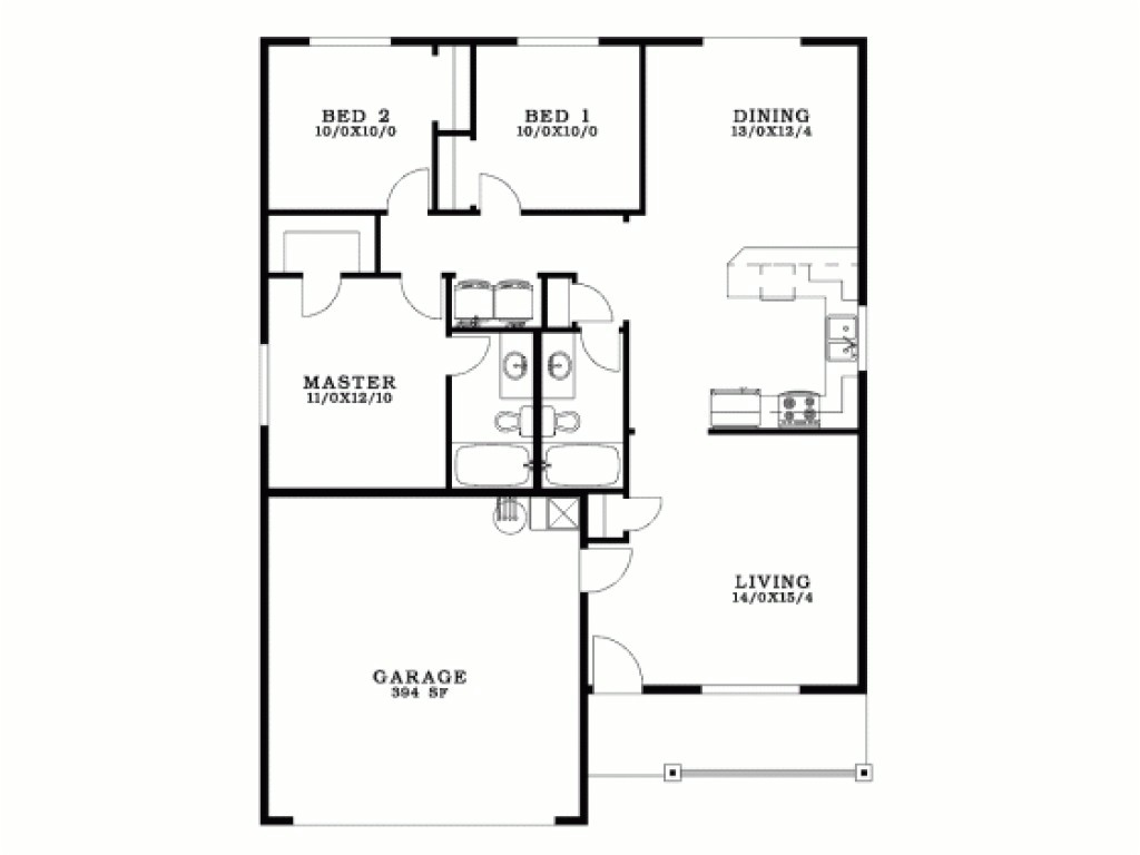 3 bedroom bungalow house plans in the philippines