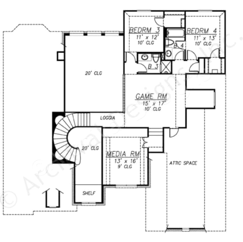 one story house plans over 3000 sq ft