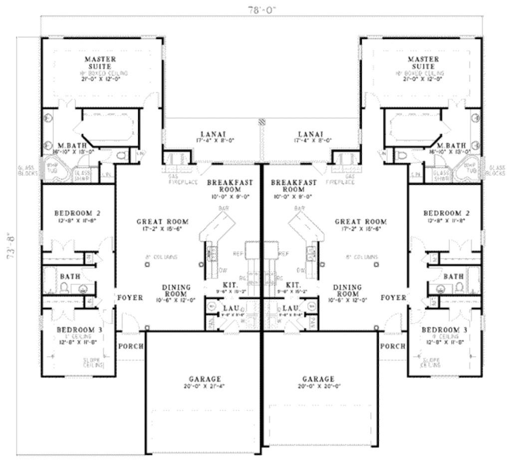3500 square foot ranch floor plans