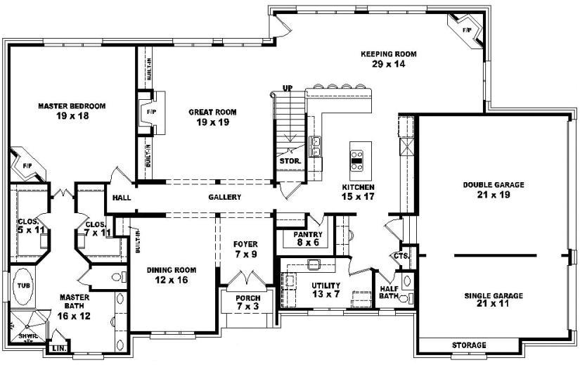 5 bedroom beach home plans