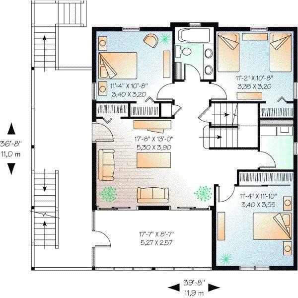5 bedroom beach house plans