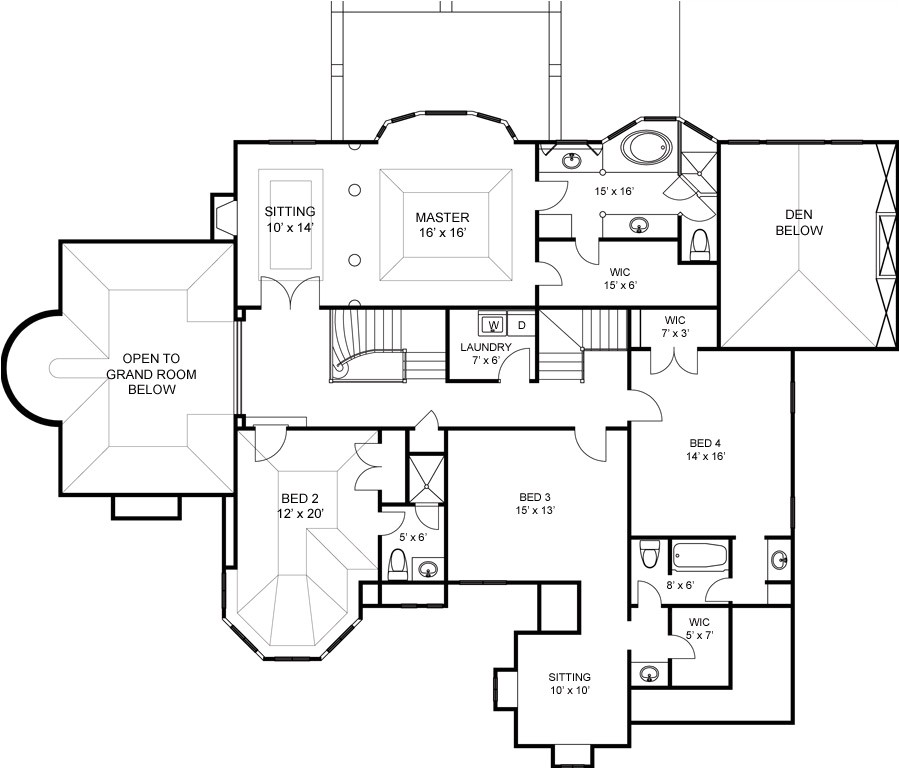6000 sq ft home plans