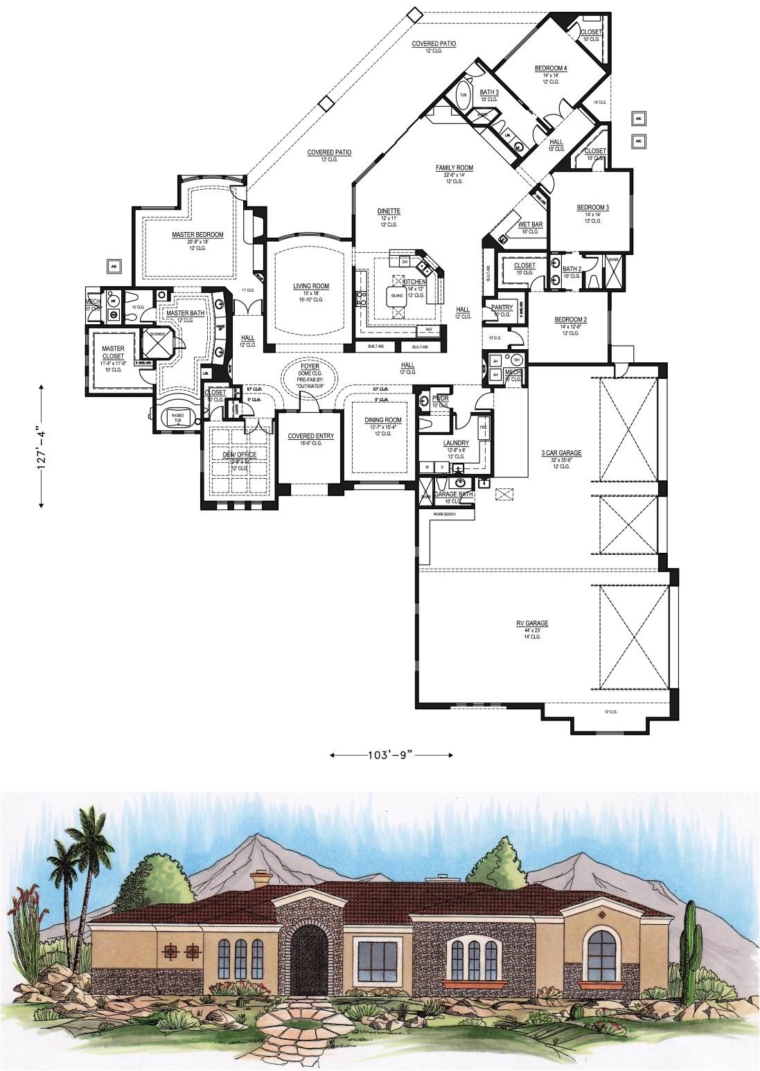 scottsdalehouseplans com 5e4500to6000