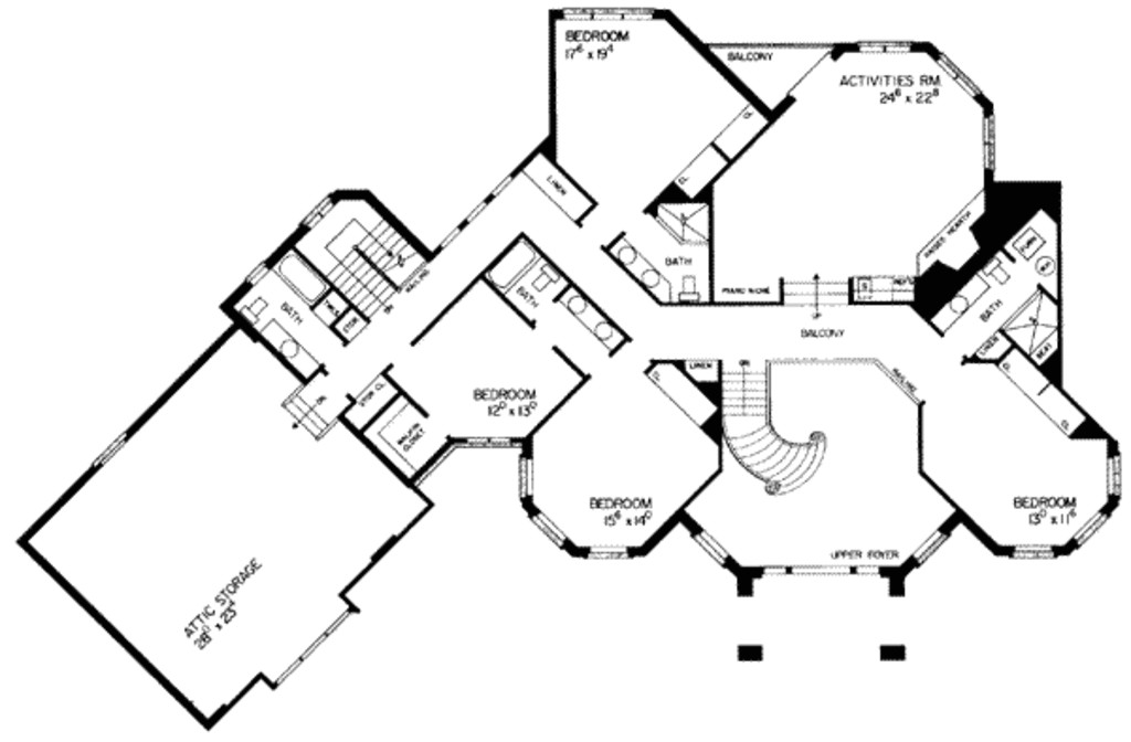 6000 square feet 5 bedrooms 7 bathroom european house plans 2 garage 9500