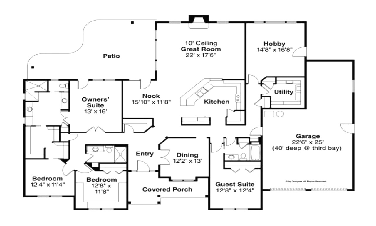 floor plans 5000 to 6000 square feet