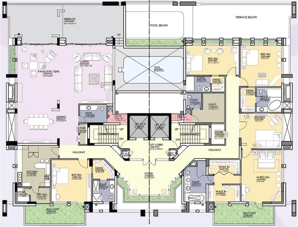8000 sq ft home floor plans