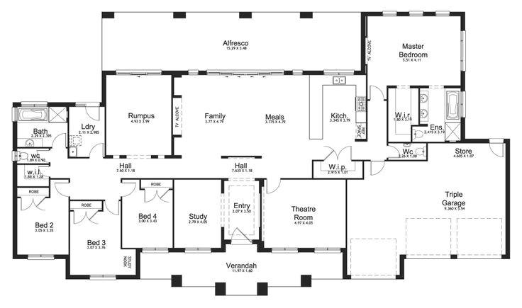 Acreage Homes Floor Plans 1000 Ideas About Bungalow Floor Plans On