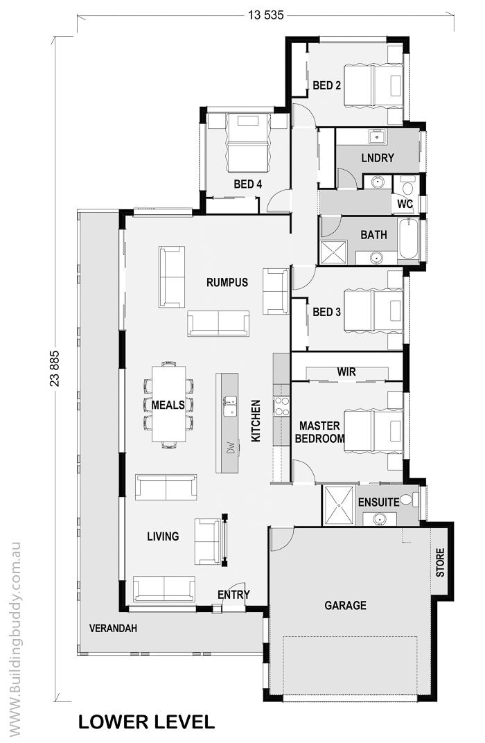 acreage house floorplans