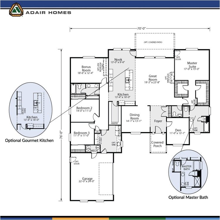 adair homes floor plans prices fresh the cashmere 3120 home plan adair homes house plans