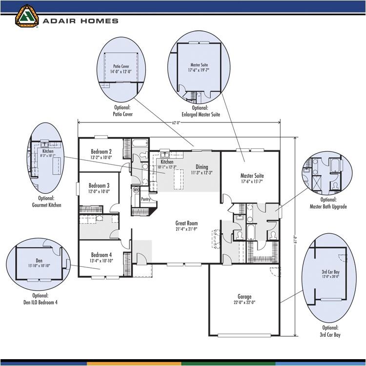 Adair Homes Floor Plans Adair Homes the Lewisville 2325 Home Plan
