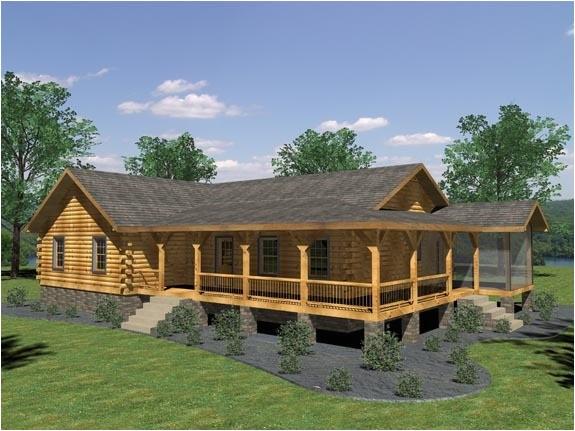 appalachian log home plan