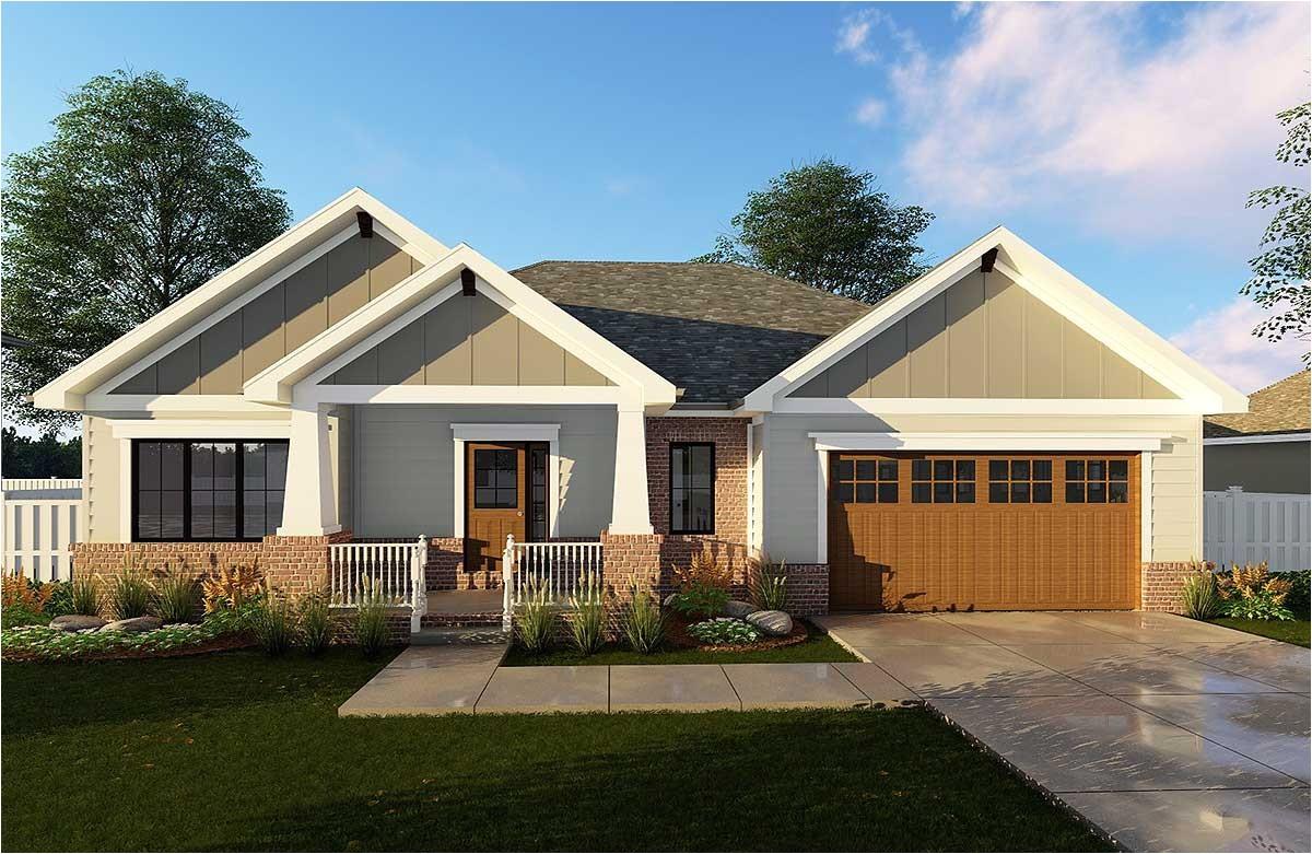 craftsman home plan 62565dj