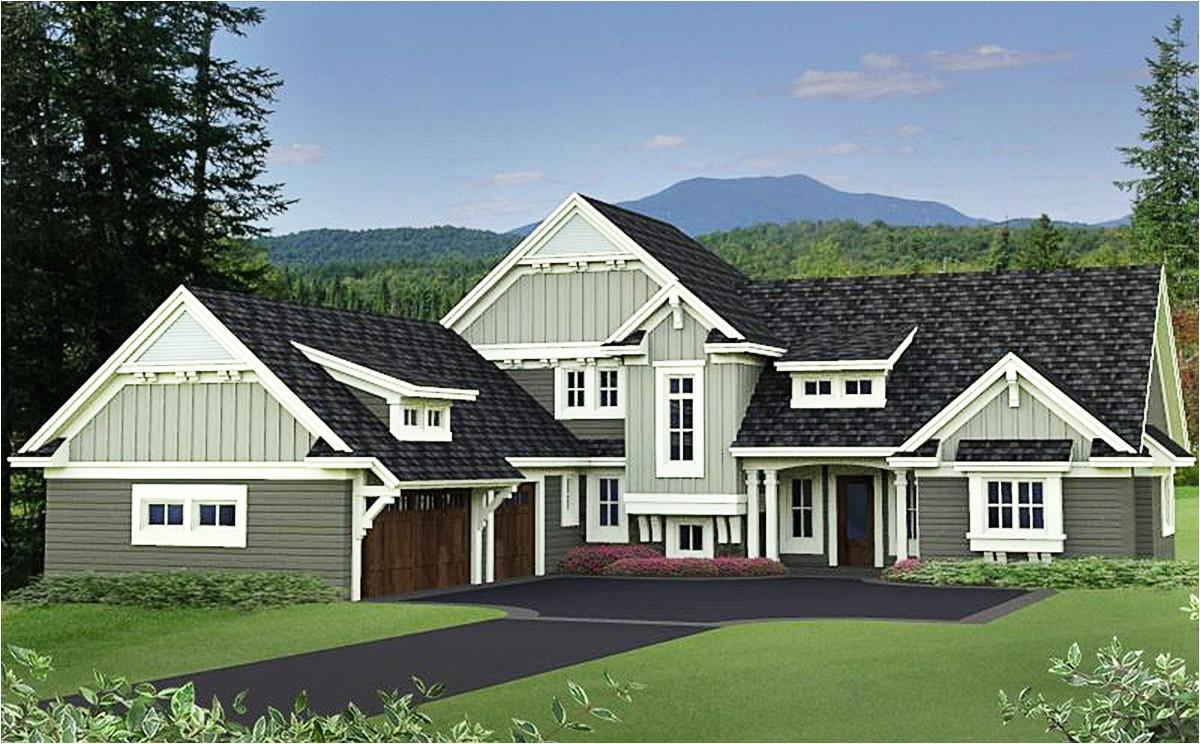 quality craftsman house plan 14619rk