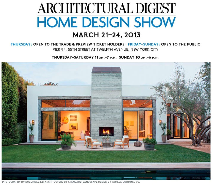 159 architectural digest home design show