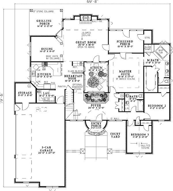 house plan 59856nd