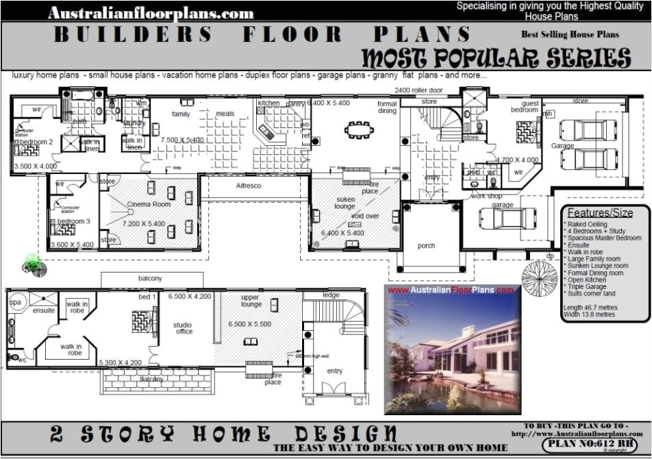 australian country house plans free
