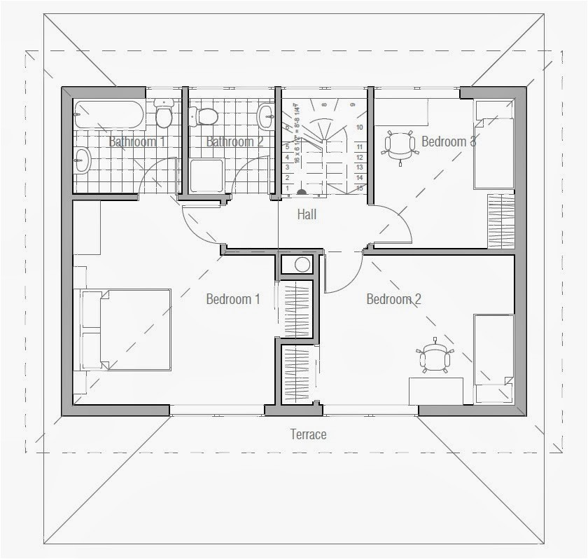 small australian house plan ch187