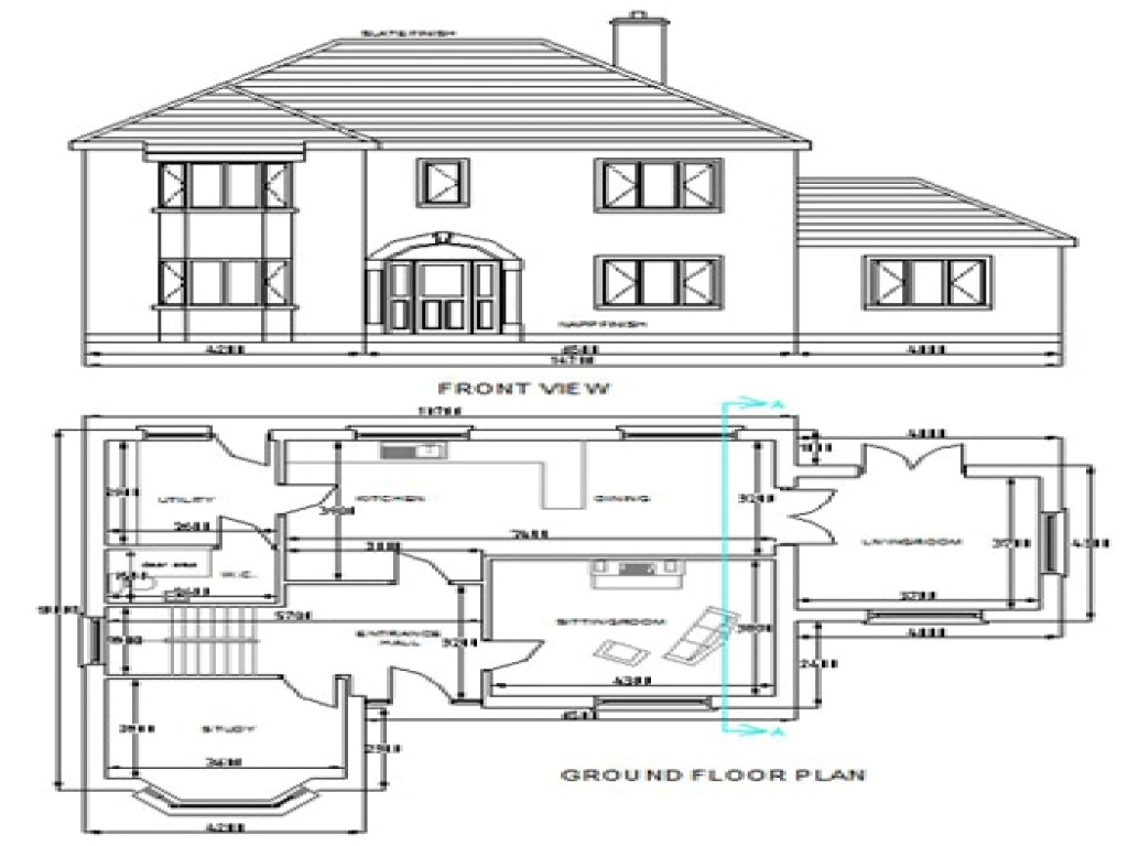 2da0f3b4547733cd free dwg house plans autocad house plans free download