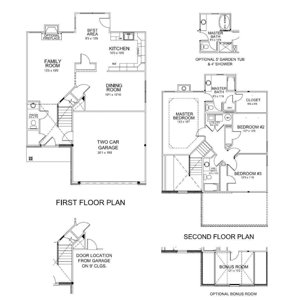 ball homes manhattan floor plan