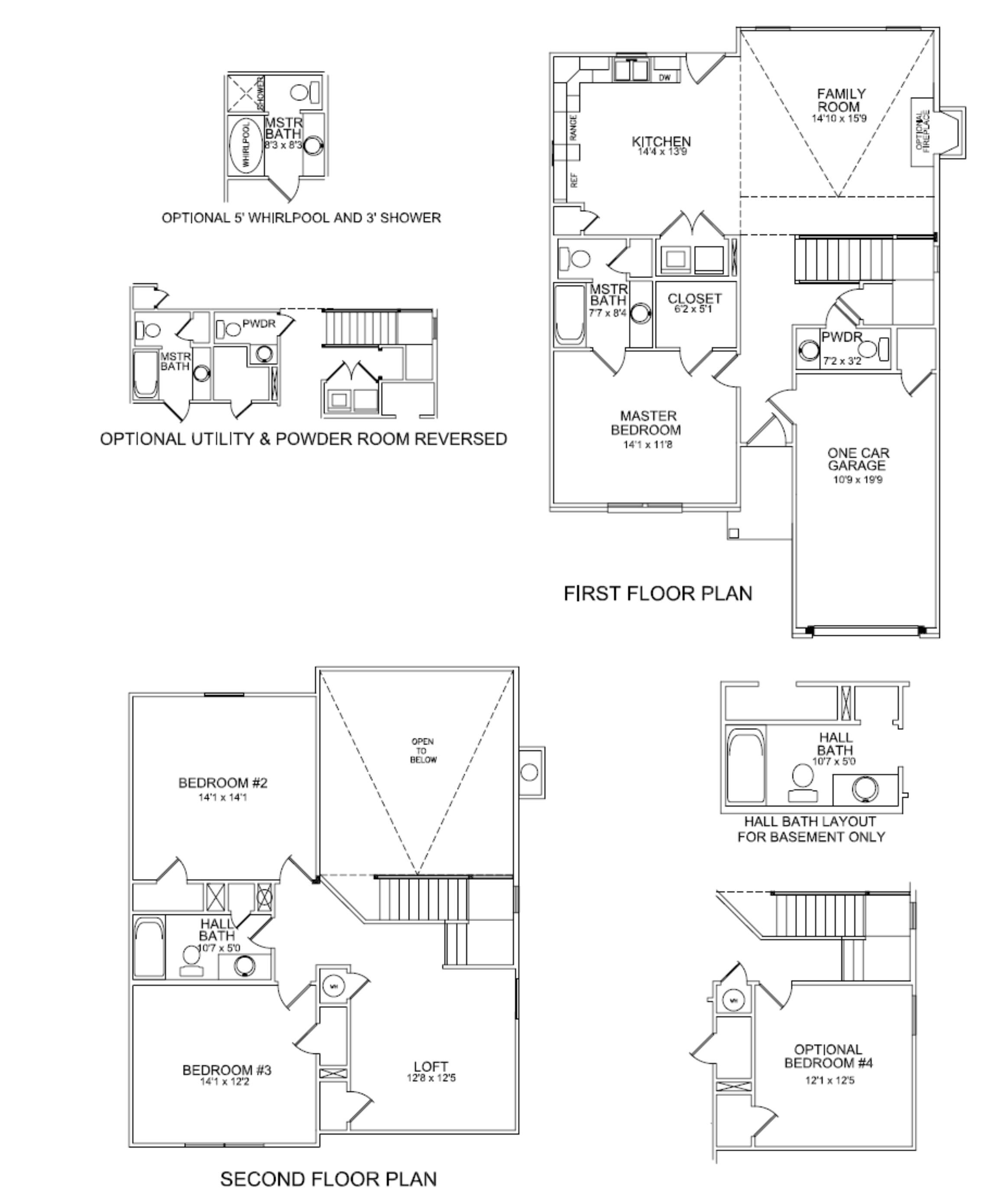 ball homes new floor plans