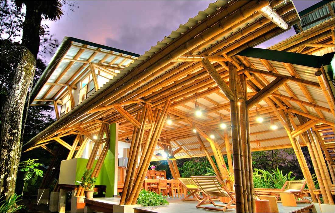 Bamboo Home Plans Modern Bamboo House Plans Lighting Modern House Plan