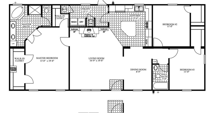 26 amazing manufactured home floor plans