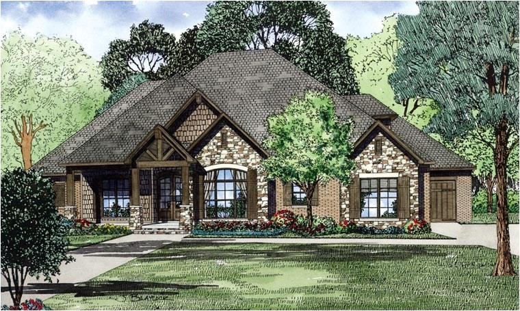 best selling house plan with photographs