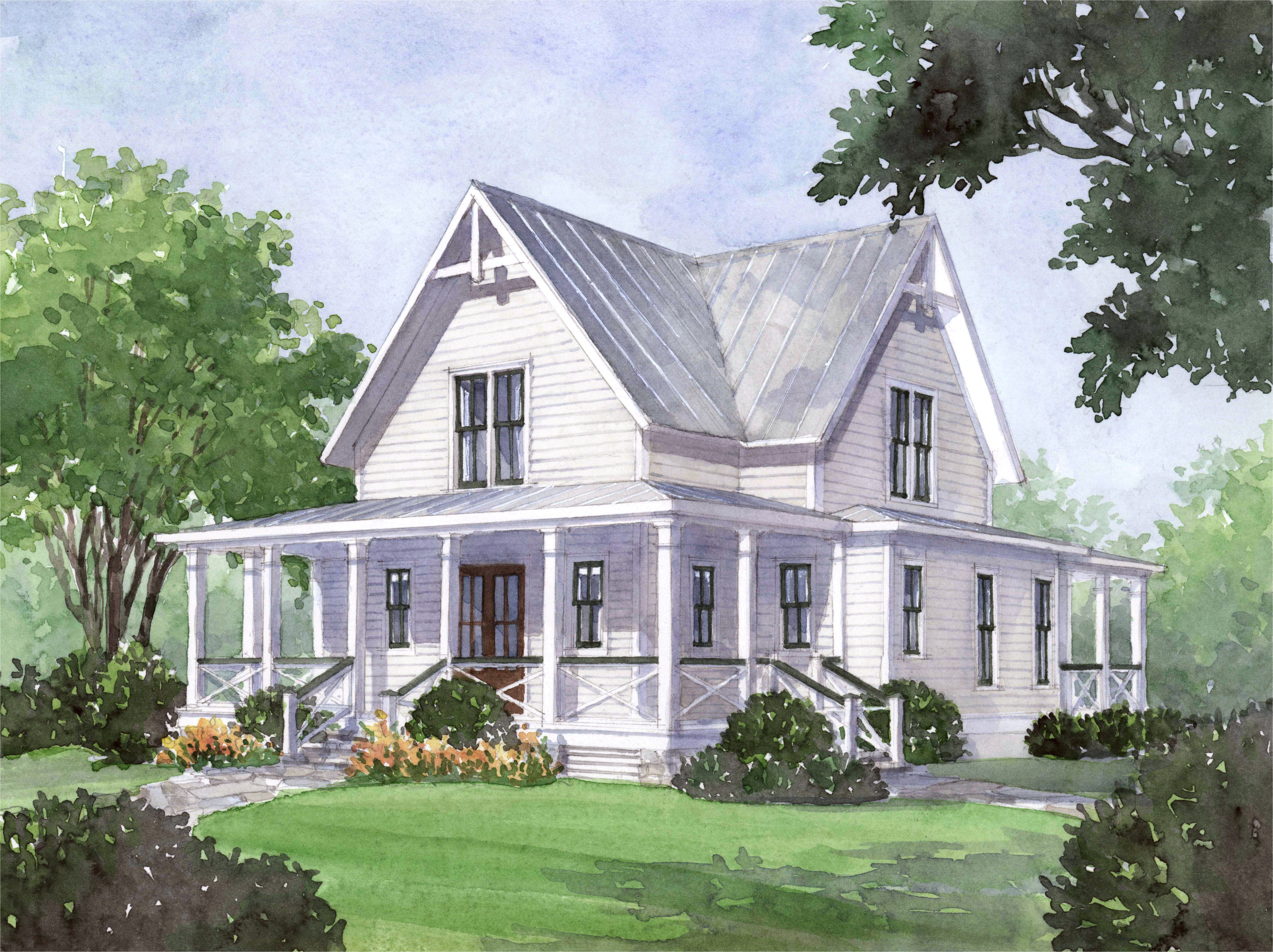Best Two Story House Plans 2016 Top Southern Living Cottage