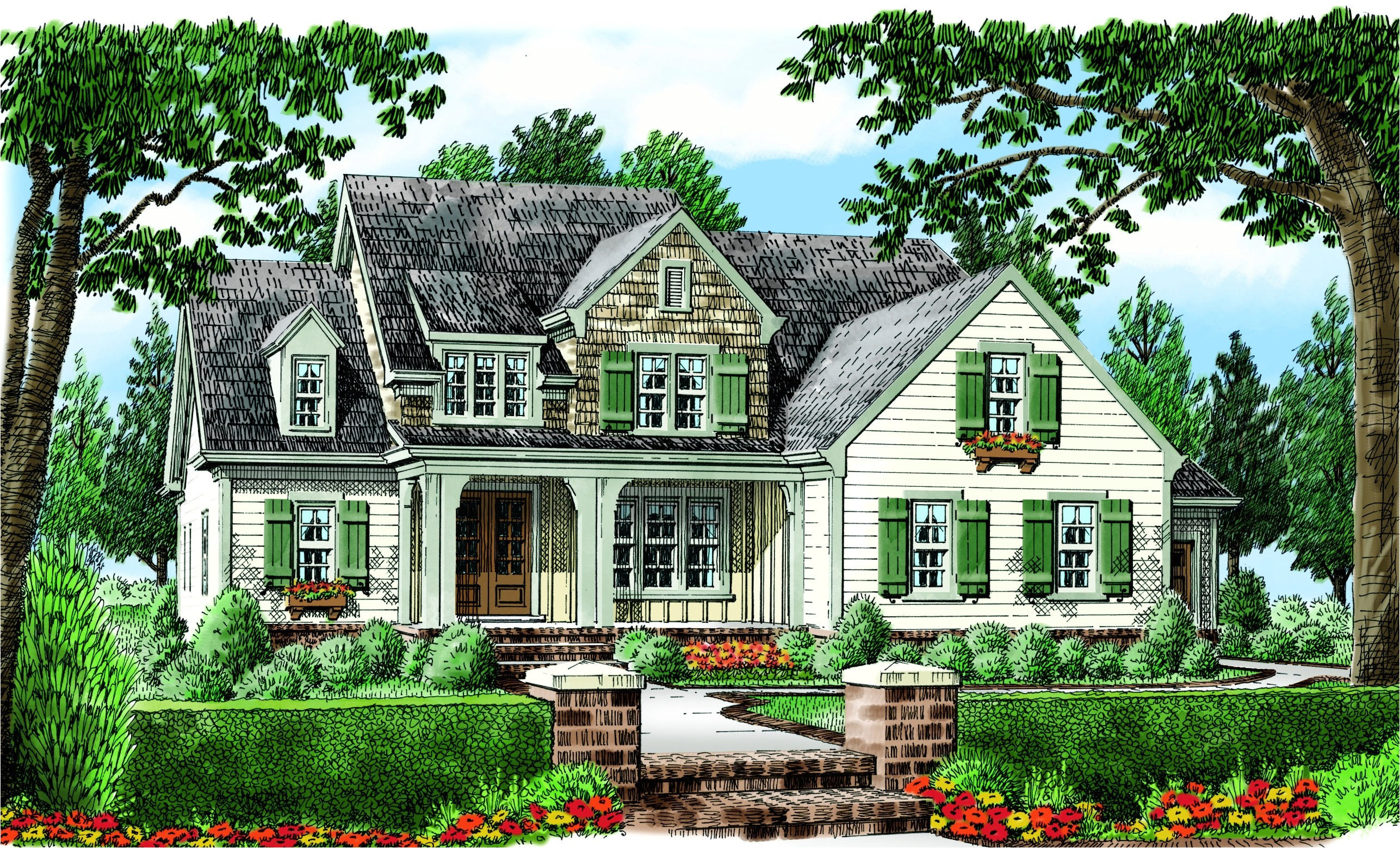 frank betz house plans with interior photos