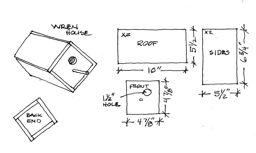 house wren birdhouse plans diy blueprint plans download office desk floor plans