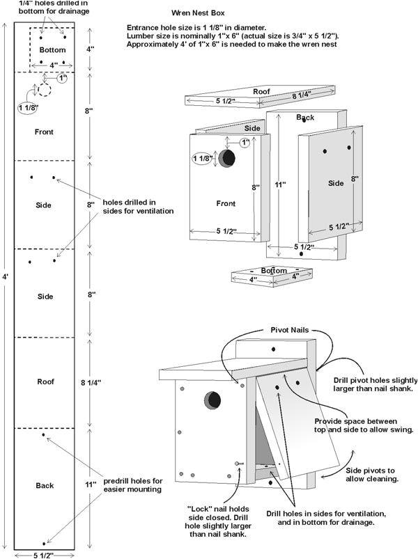 pdf diy wren house plans diy download woodworkers joint ebook