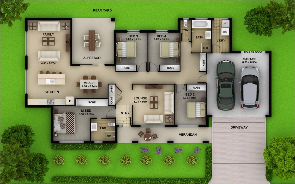 block house plans 2