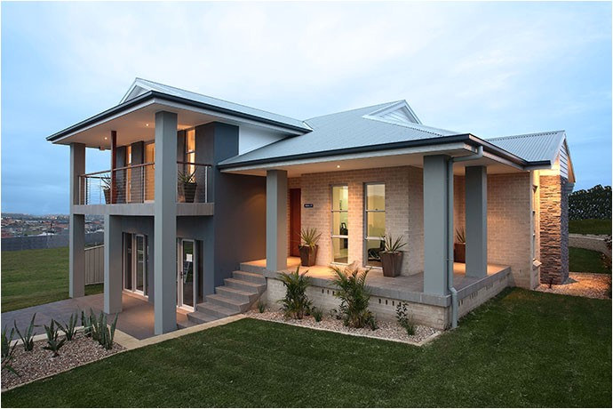 sloping block house designs australia