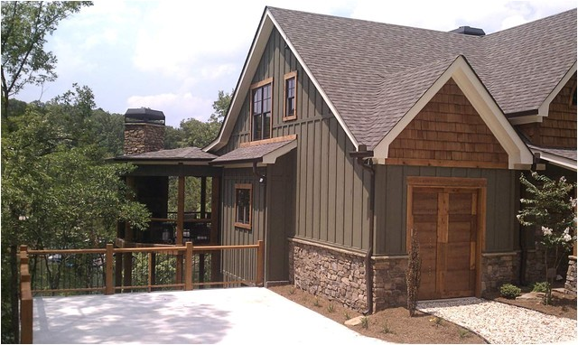 asheville mountain home traditional exterior atlanta