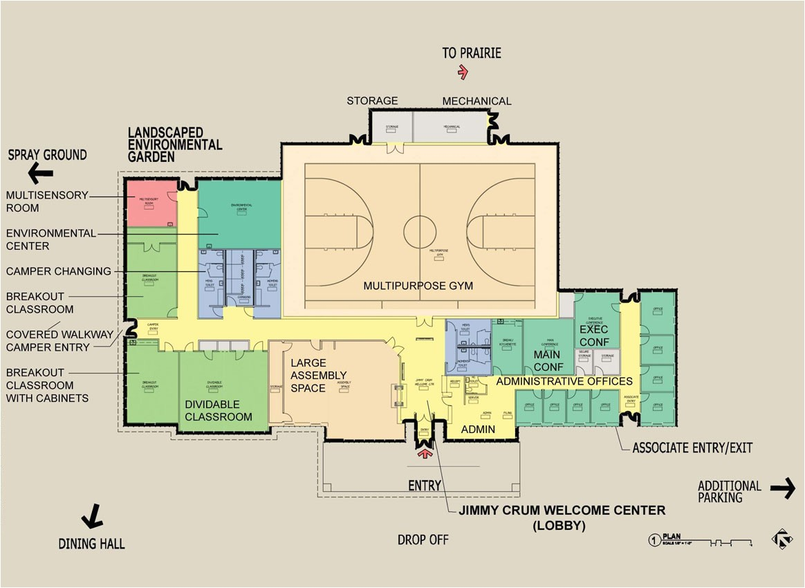 recreation center floor plans find house