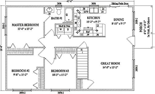 Cambridge Homes Floor Plans Cambridge by Wardcraft Homes Ranch Floorplan