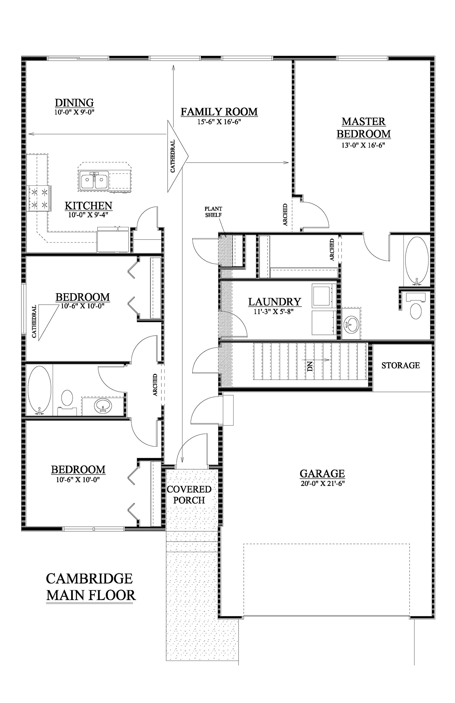 Cambridge Homes Floor Plans the Cambridge Basement Floor Plans Listings Viking Homes