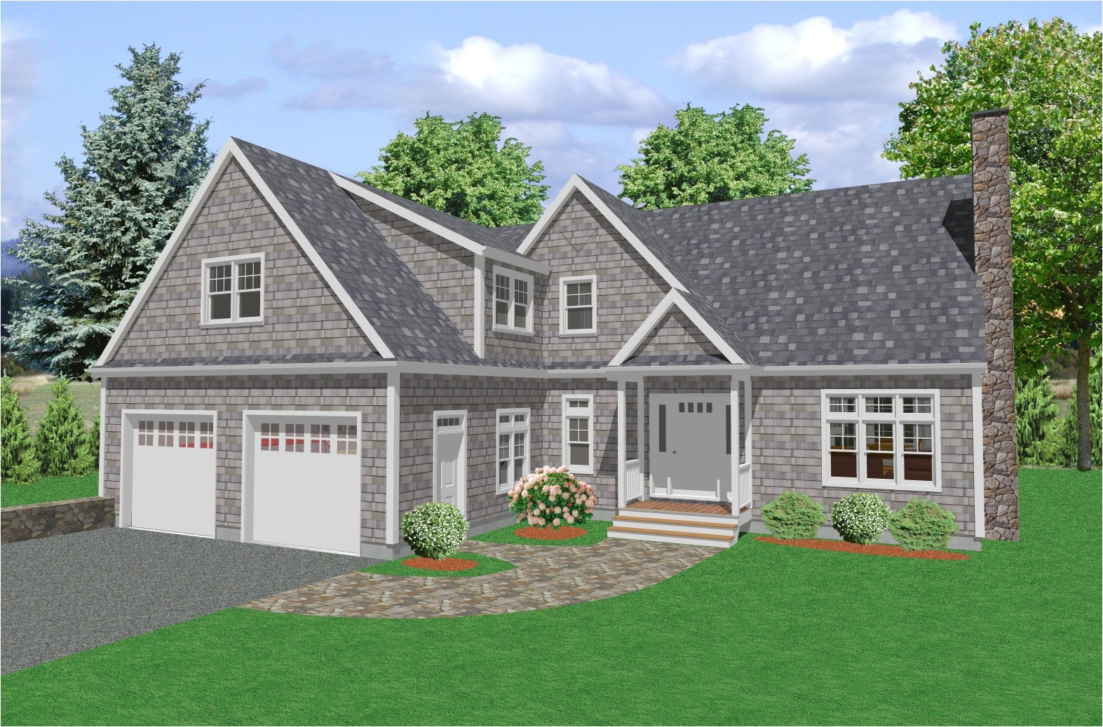 country house plan d64 2687