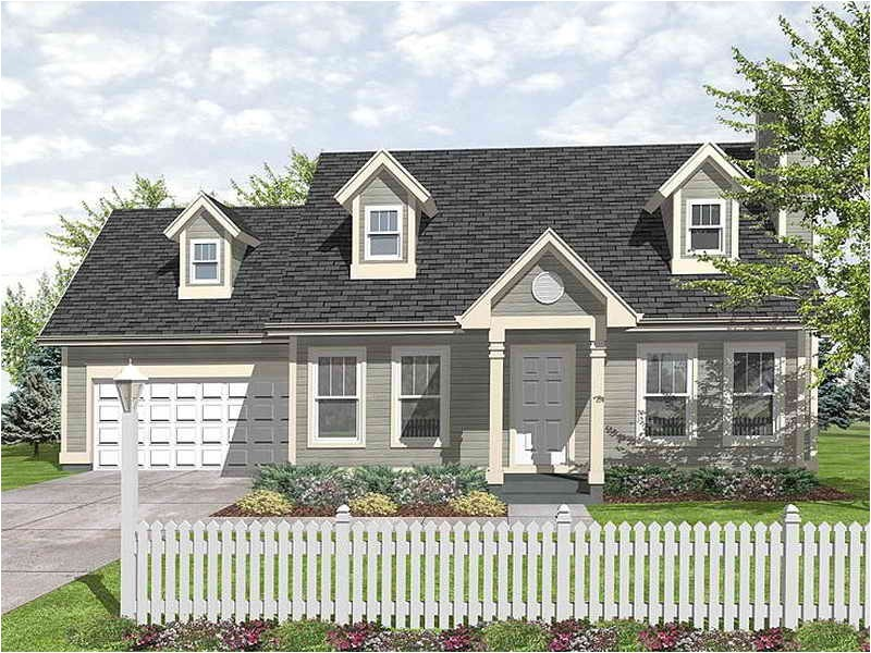landscaping in front of a cape cod style house