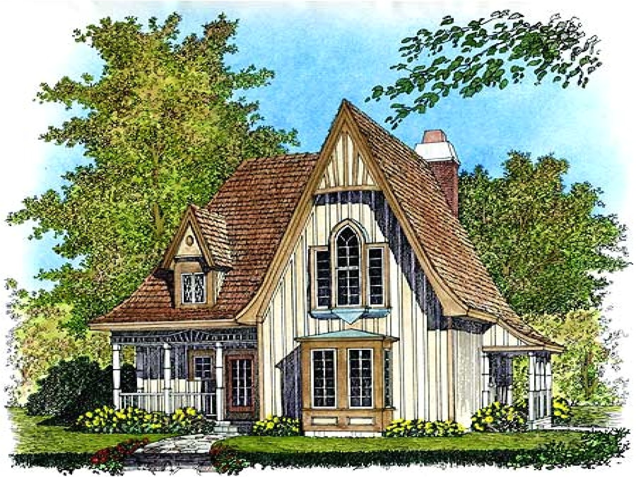 9d322f44594e8064 small gothic cottage house plans carpenter gothic cottages